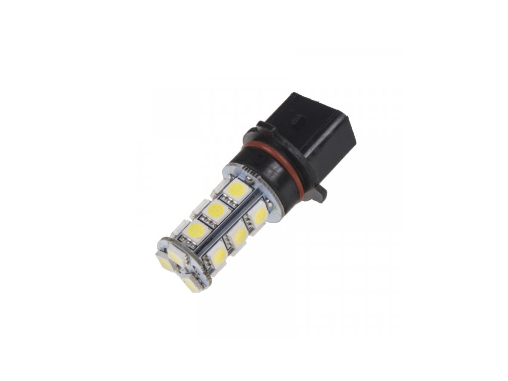 LED žárovka 12V s paticí P13W 18LED/3SMD