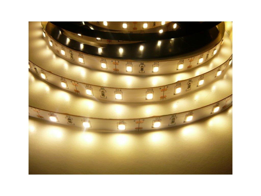 LED pásek 24V-300-12W vnitřní - Teplá bílá