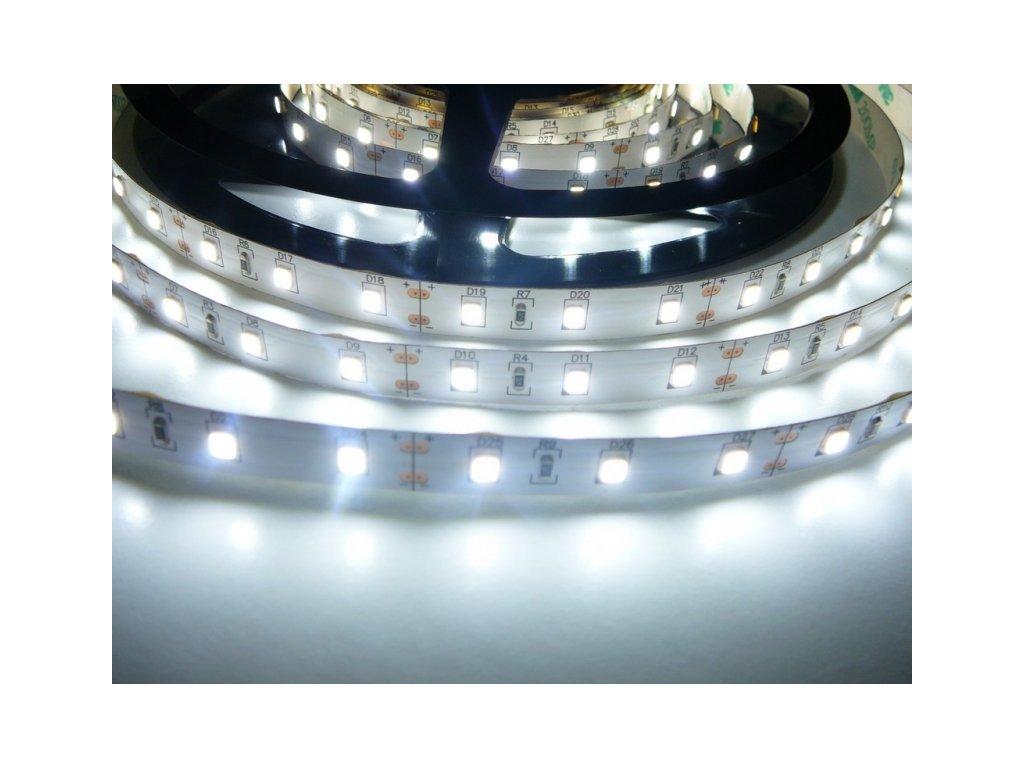 LED pásek 24V-300-12W vnitřní - Studená bílá