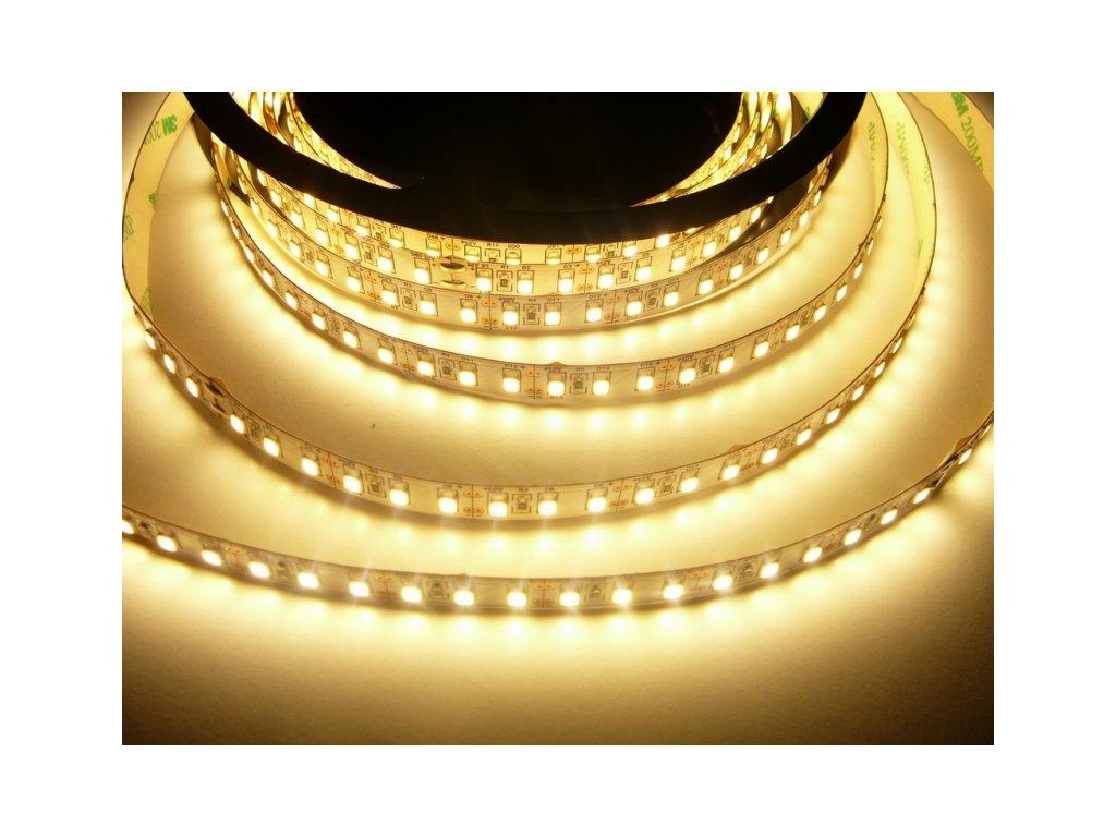 LED pásek 24V-600-20W vnitřní - Teplá bílá