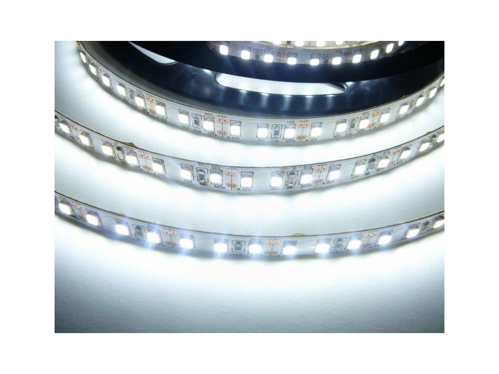 LED pásek 24V-600-20W vnitřní - Studená bílá