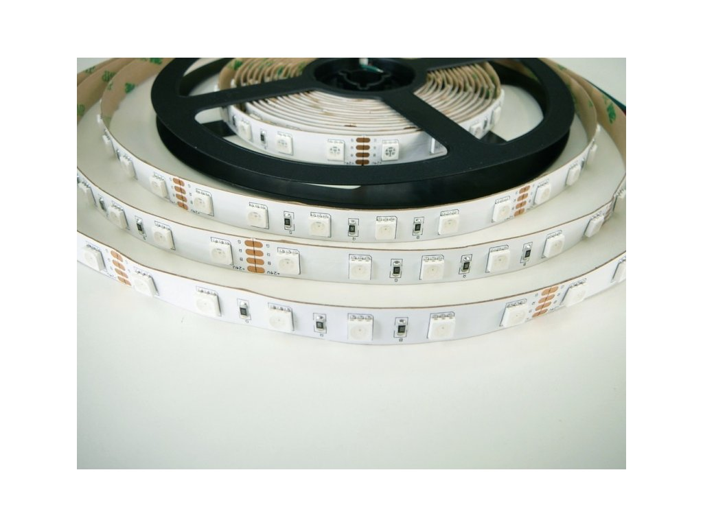 RGB LED pásek 24V-300 - RGB