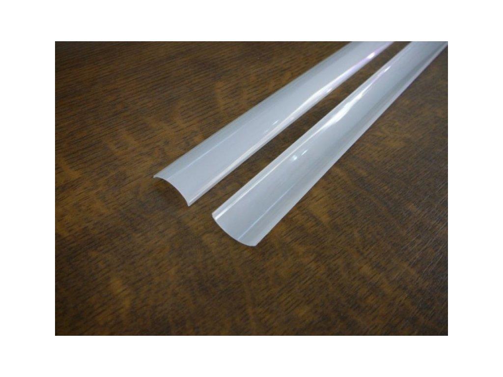 Difuzor pro ALU profil R5 - R5K-O Kryt kulatý opál 1m