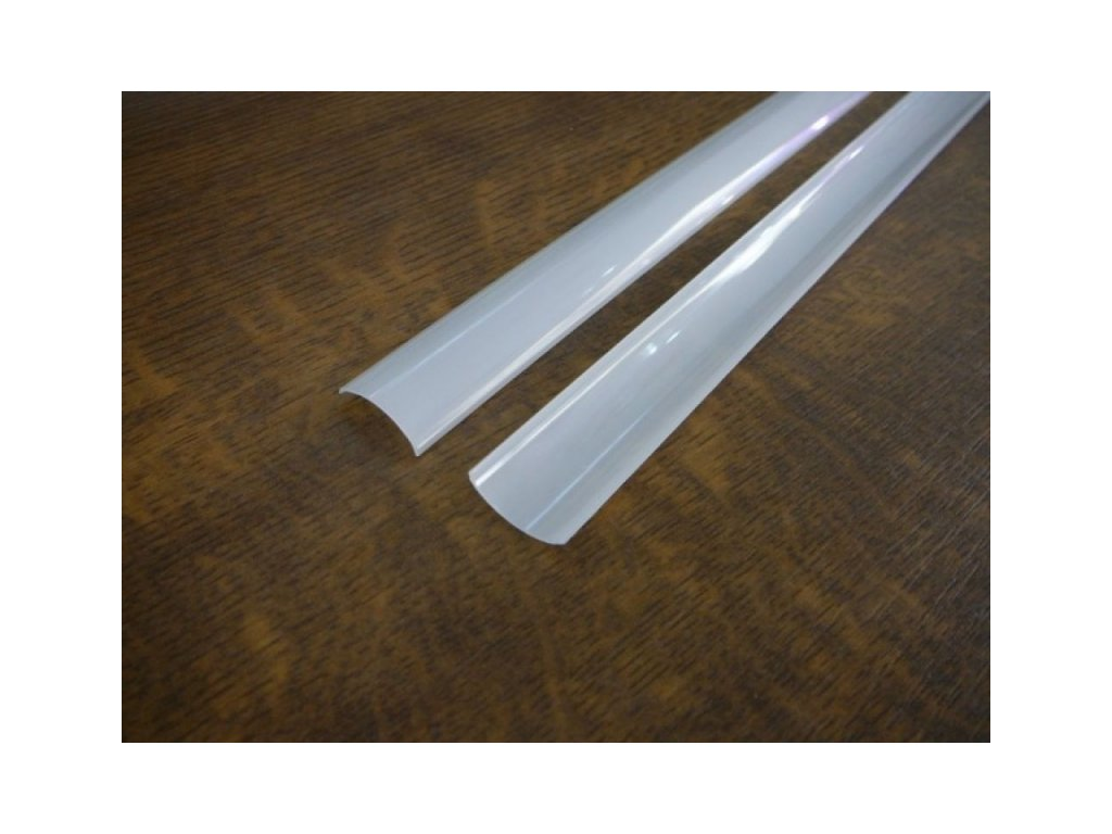 Difuzor pro ALU profil R5 - R5K-O Kryt kulatý opál 2m