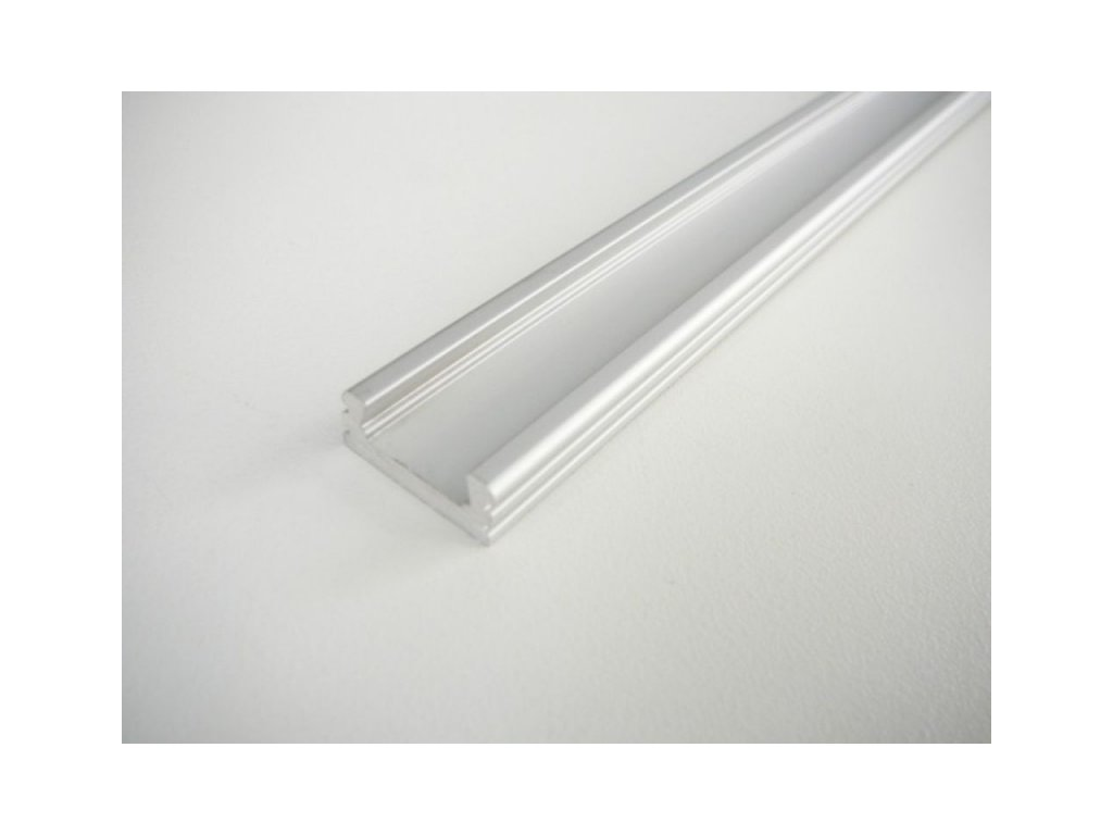 LED profil N2 - nástěnný - Profil bez krytu 1m