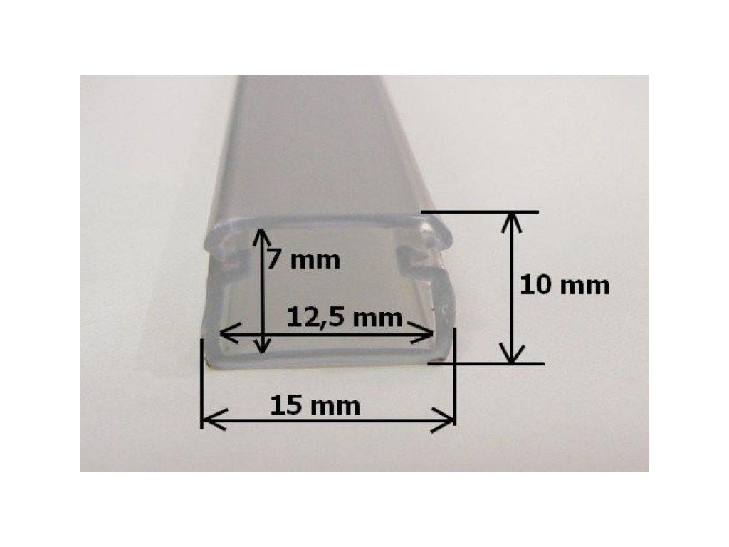 LED profil FLEX - FLEX profil 1m