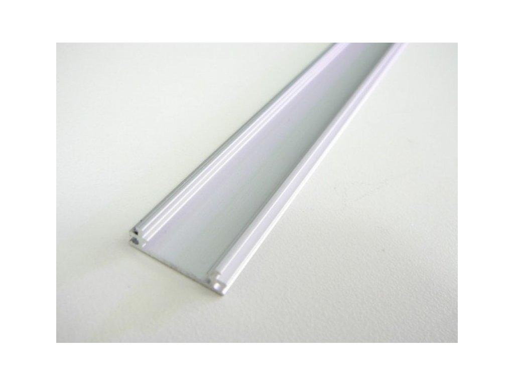 LED profil TUBE nástěnný - Profil bez krytu 2m