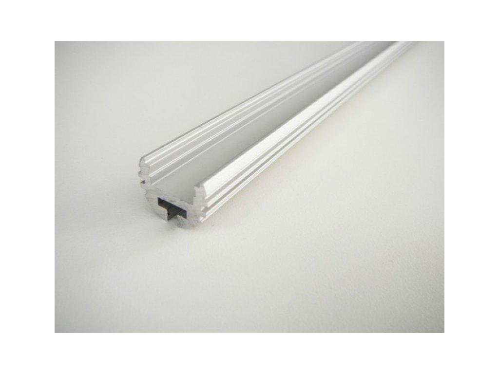 LED profil K - kruhový - Profil bez krytu 1m