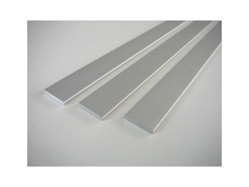 LED profil plochý ELOX 15x2 plochý -1m