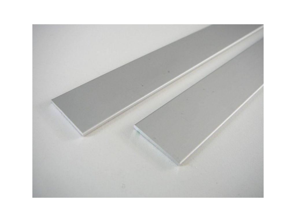 LED profil plochý ELOX 25x2 mm -1m