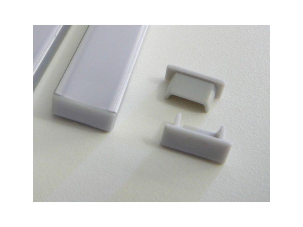 Koncovka profilu Mikro-2 - Plná