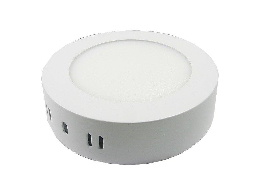Podhledové světlo LED 6W, 120mm, teplé bílé, 230V/6W, přisazené