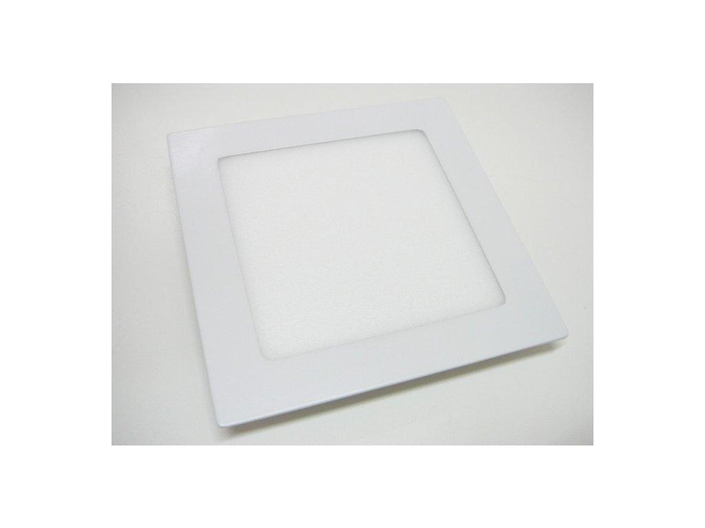 LED podhledové světlo 12W čtverec 171x171mm - Teplá bílá