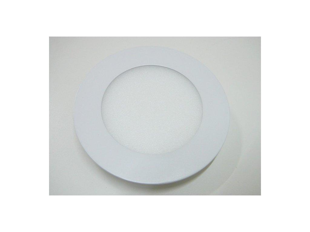 LED podhledové světlo 6W kulatý 120mm - Teplá bílá