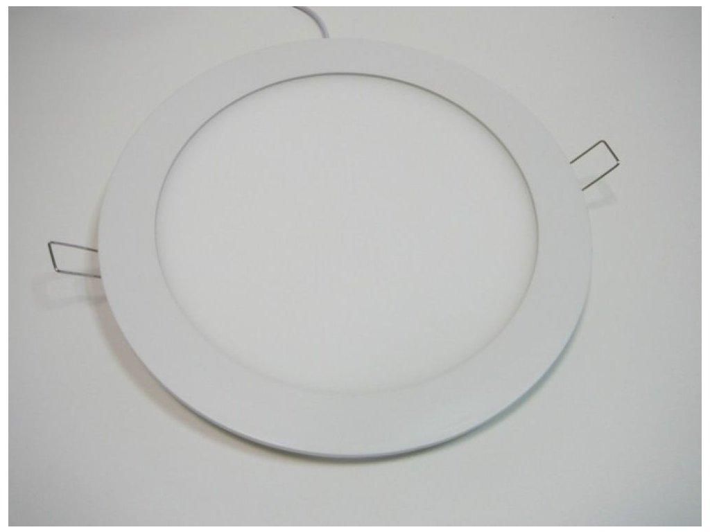 LED podhledové svítidlo 18W kulatý 225mm - Teplá bílá