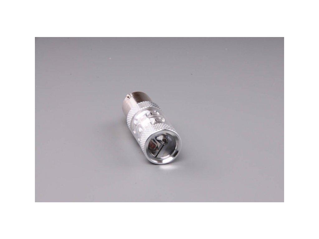 žárovka LED 12V-24V 21W BA15s oranžová 50W