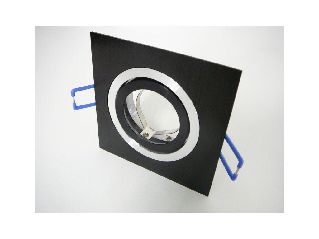 Podhledový rámeček D10-1B černý - TLZ-D10-1B podhledový rámeček