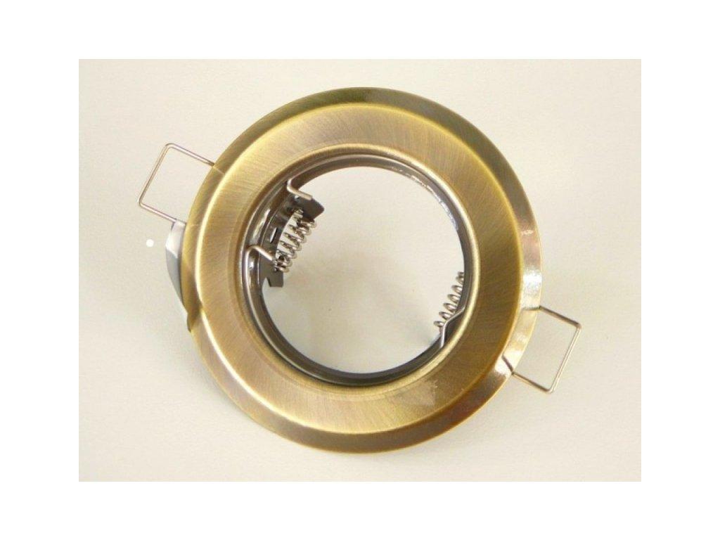 Podhledový rámeček R50-BR/M matná mosaz - TLZ-R50-BR/M matná mosaz podhledový rámeček