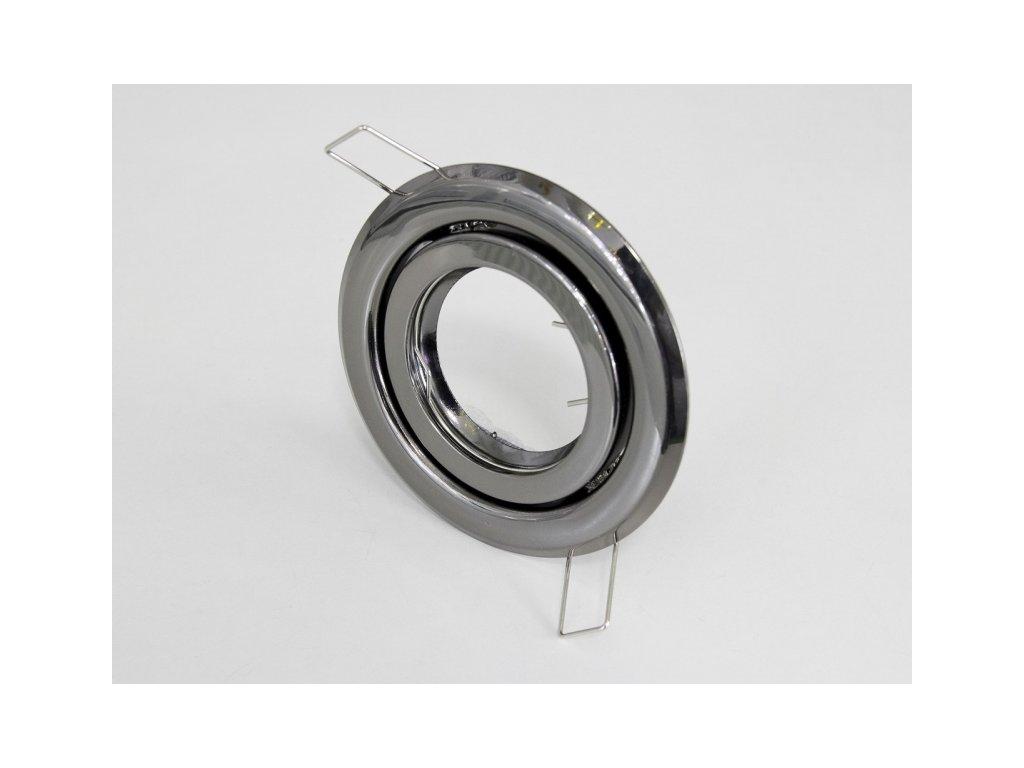 Podhledový rámeček R55-GM černý chrom - TLZ-R55Výkl-GM černý chrom podhledový rámeček