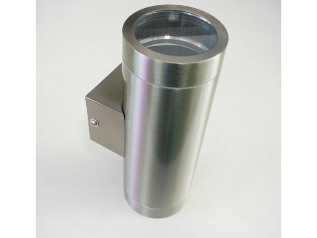 Fasádní venkovní svítidlo MAGRA 2 - fasádní svítidlo 2xGU10 Magra nerez