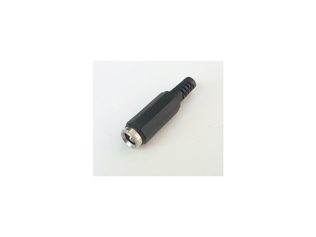 DC konektor napájecí kabelový (samice) - DC konektor pájecí (samice)