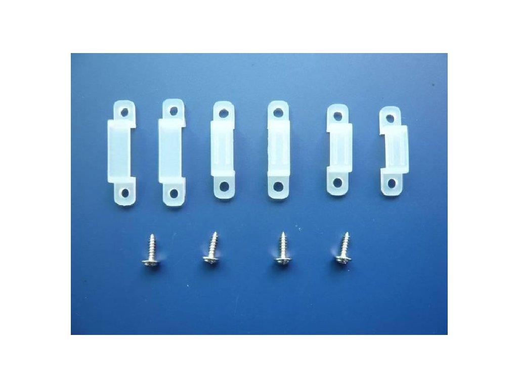 LED pásek - příchytka - Držák LED pásku 10mm