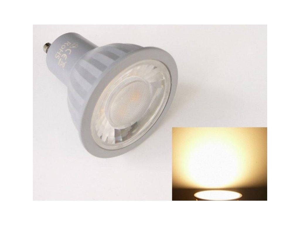 LED žárovka GU10 P7WDIM stmívatelná - Teplá bílá