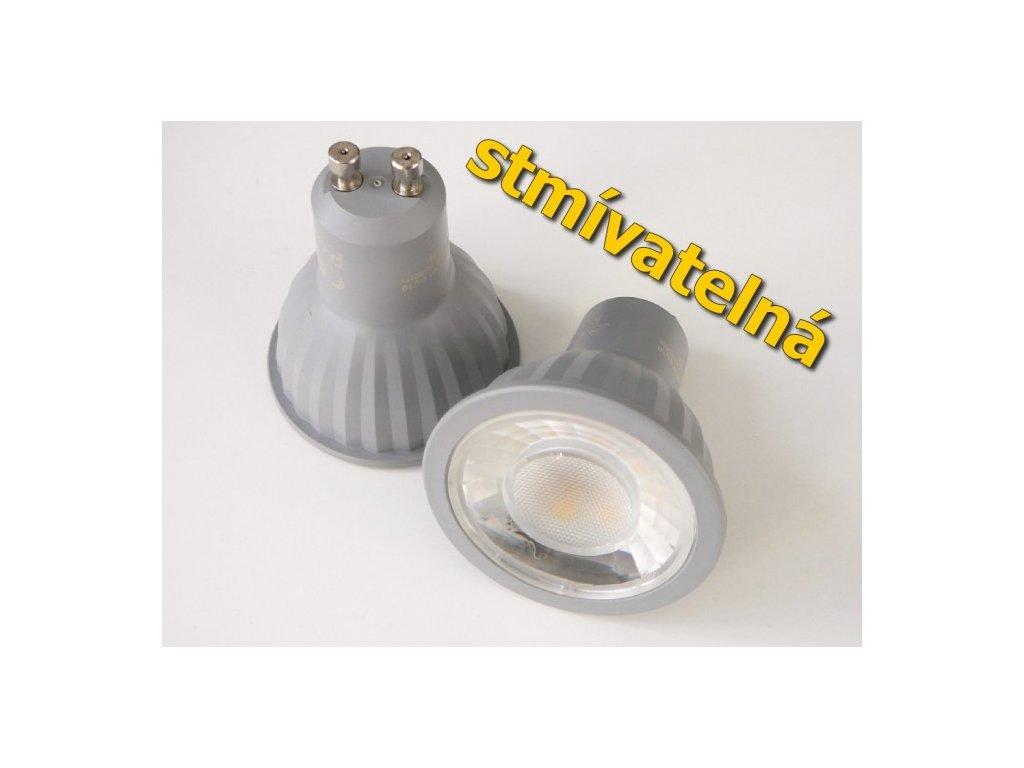 LED žárovka GU10 P7WDIM stmívatelná - Studená bílá
