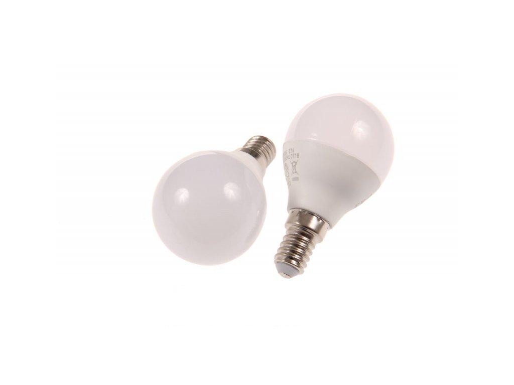 LED žárovka E14 MKG45 6W - Studená bílá