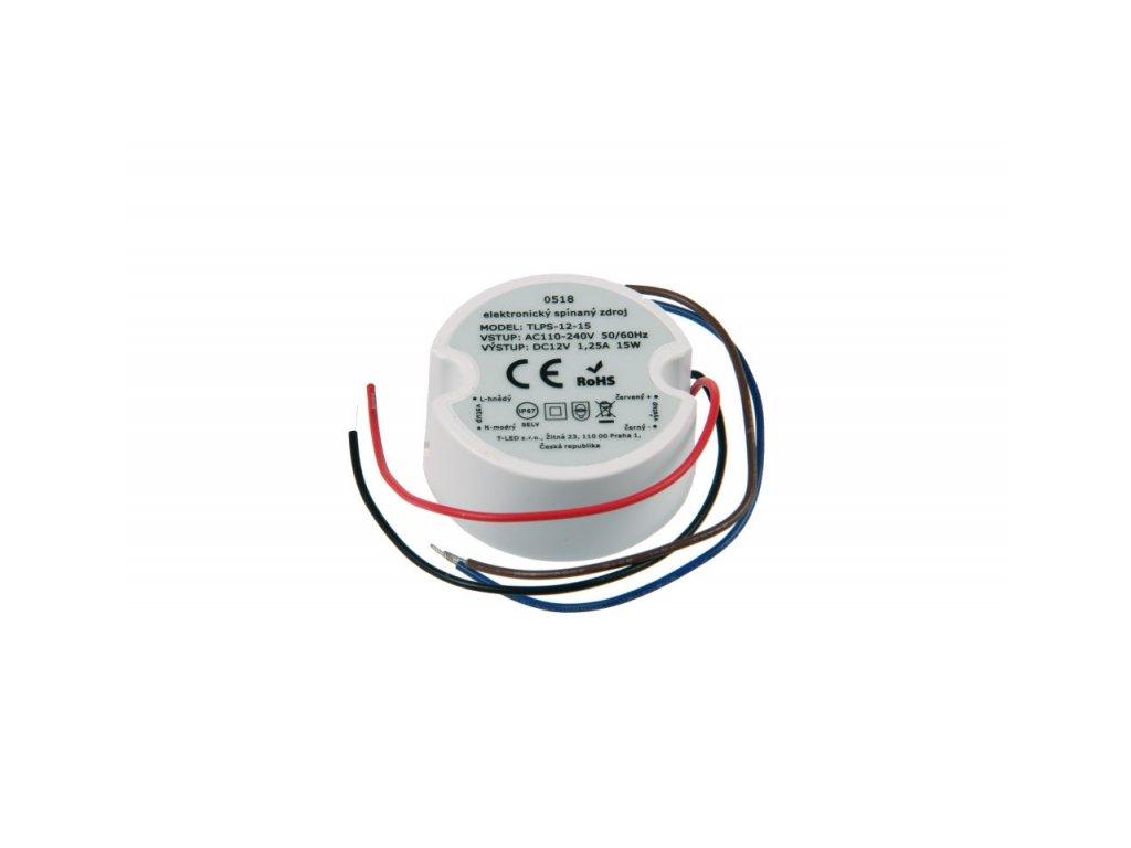 LED zdroj 12V 15W IP67 - 12V 15W zdroj IP67 TLPS-12-15