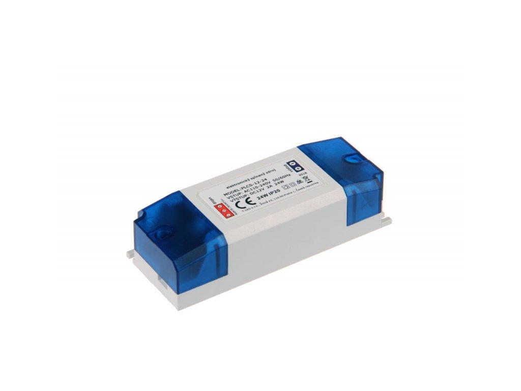 LED zdroj PLCS 12V 24W vnitřní - 12V 24W zdroj vnitřní PLCS-12-24