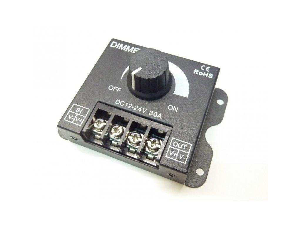 LED ovladač stmívač M6 30A - TL-DIM-M6-30A stmívač