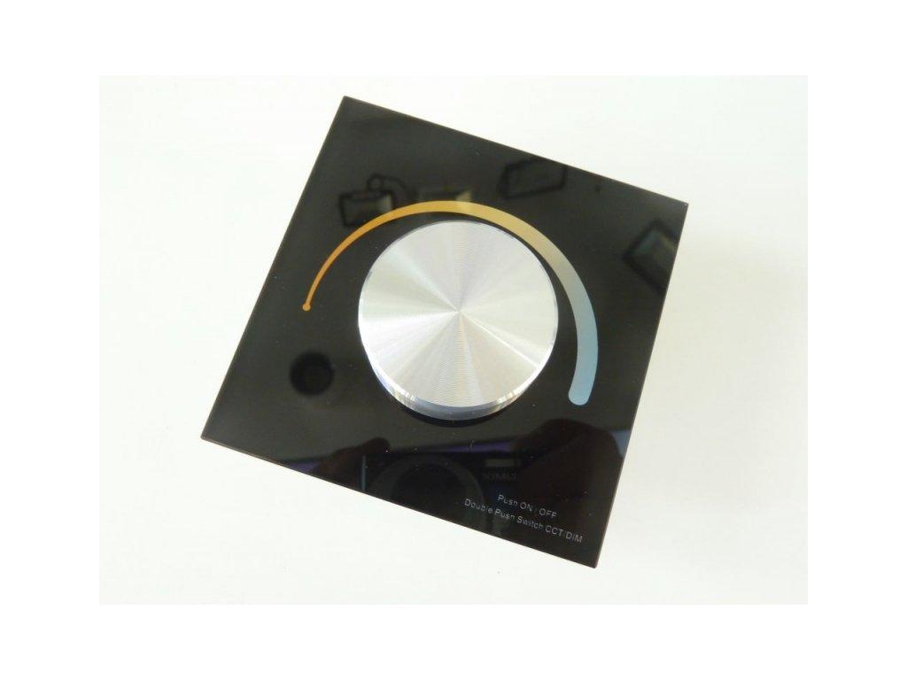 Ovladač dimLED OV DUPLEX CCT 2K - Černý