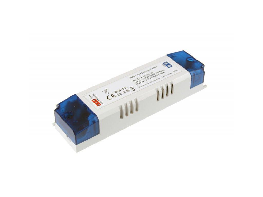 LED zdroj PLCS 12V 80W vnitřní - 12V 80W zdroj vnitřní PLCS-12-80