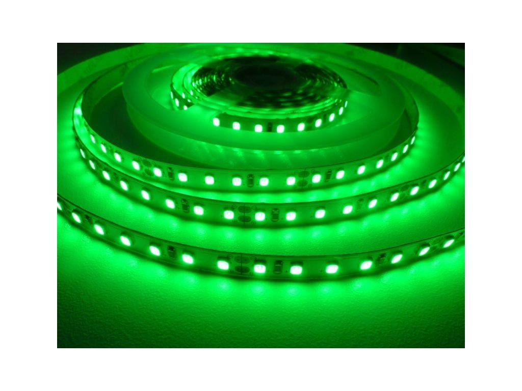 LED pásek 24HQ12096 vnitřní - Zelená