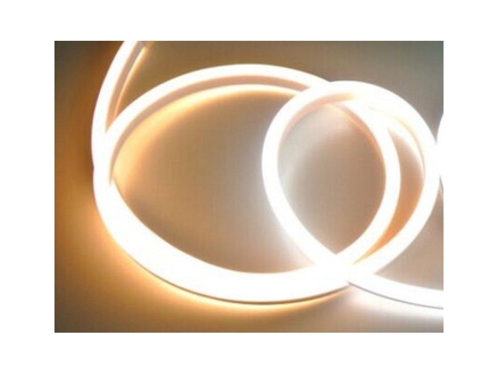 LED NEON pásek 230V - Teplá bílá