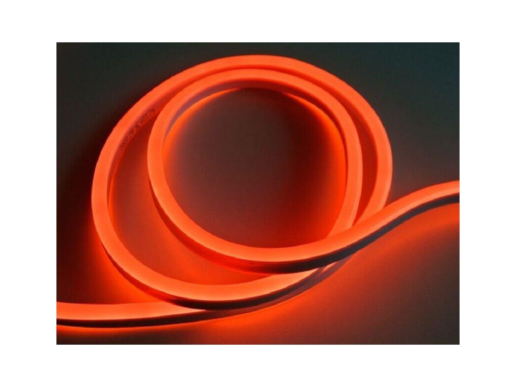 LED NEON pásek 230V - Červená