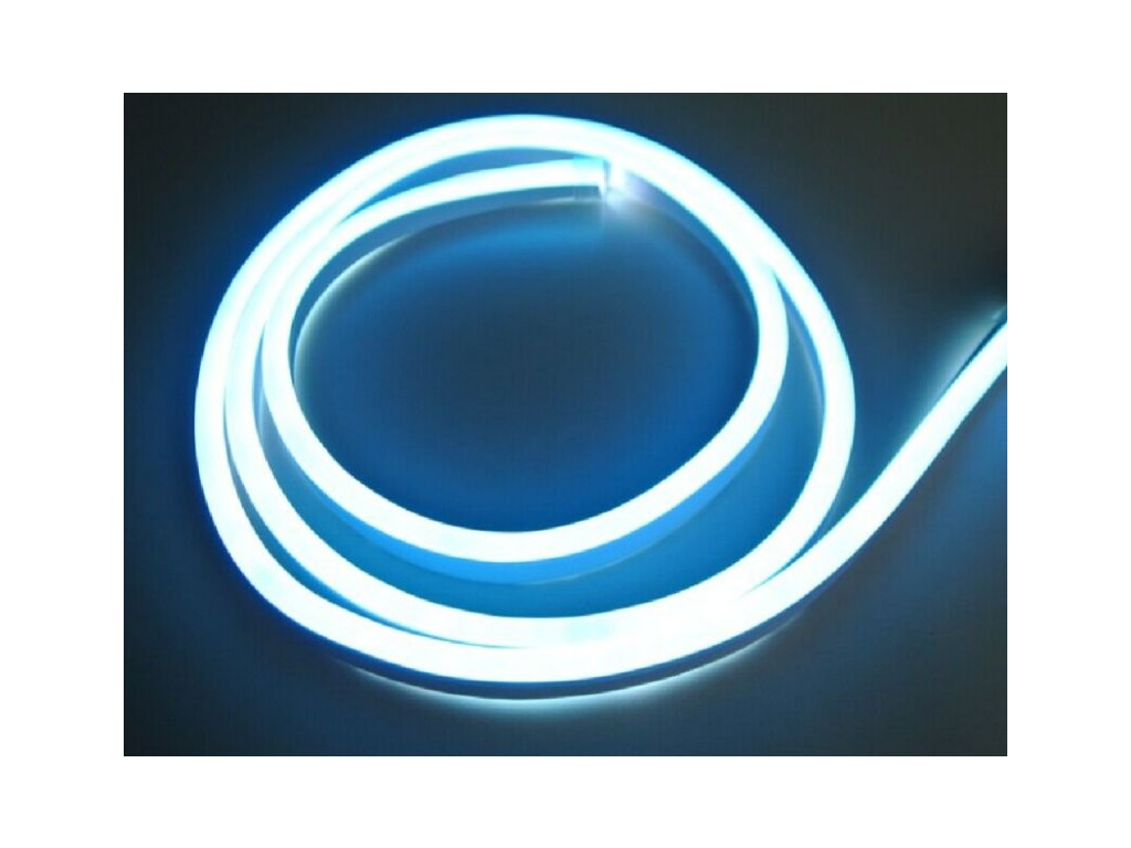 LED NEON pásek 230V - Modrá
