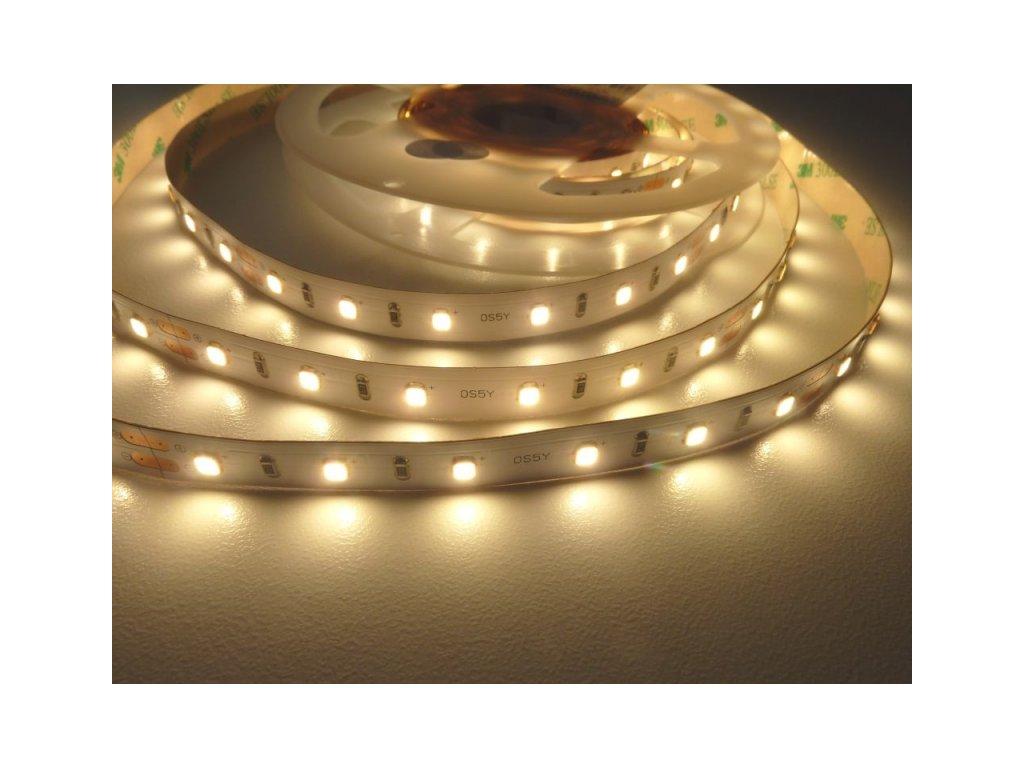 LED pásek 24OS5Y6012 vnitřní záruka 5 let - Teplá bílá