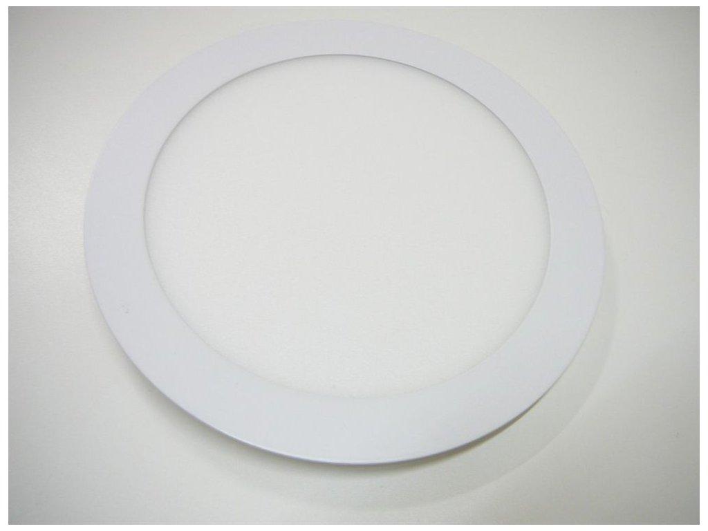 Podhledový LED panel 24W kulatý 300mm - Studená bílá