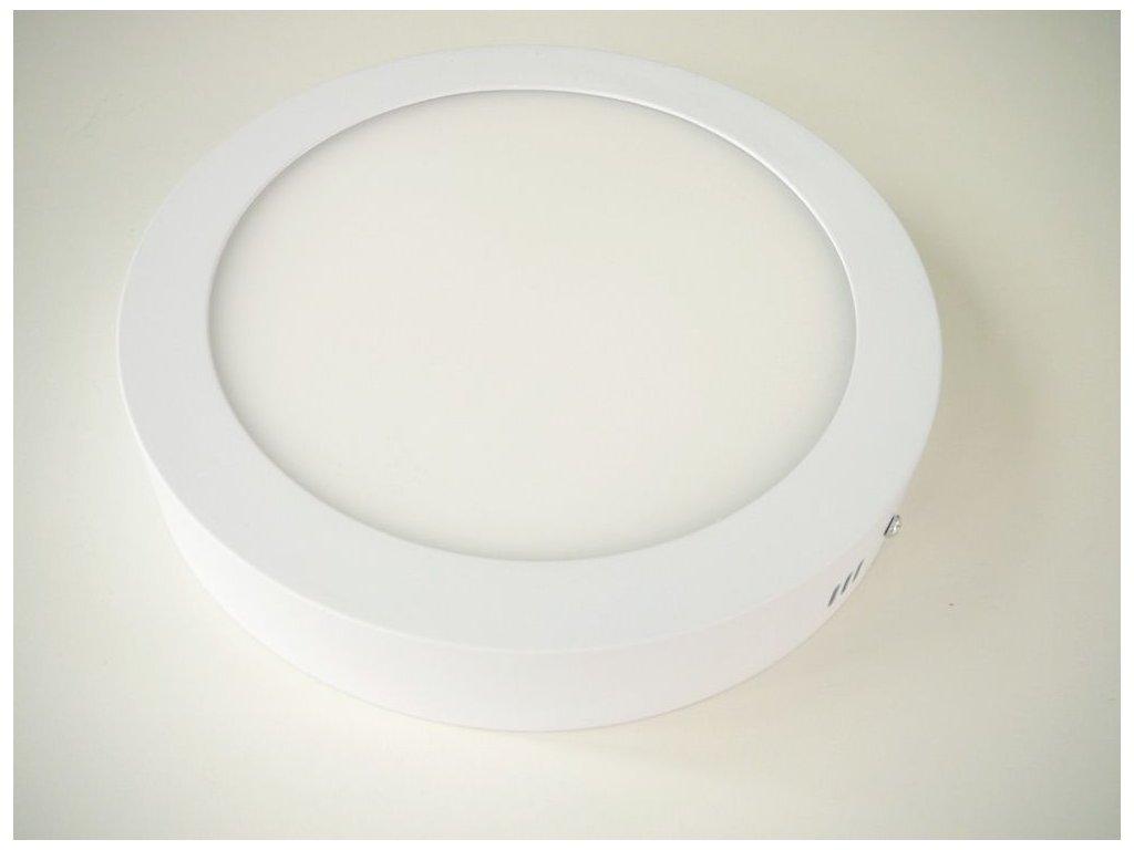 Stropní LED svítidlo 24W přisazený kulatý 300mm - Denní bílá