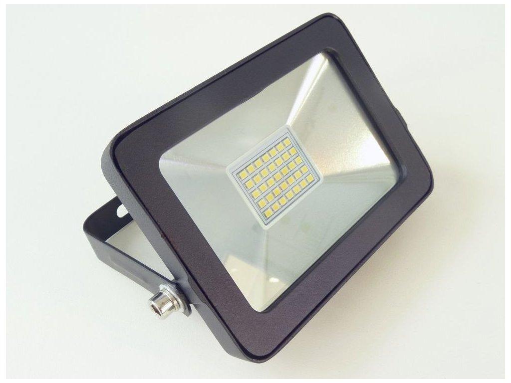 LED reflektor RB15W černý 15W - Teplá bílá