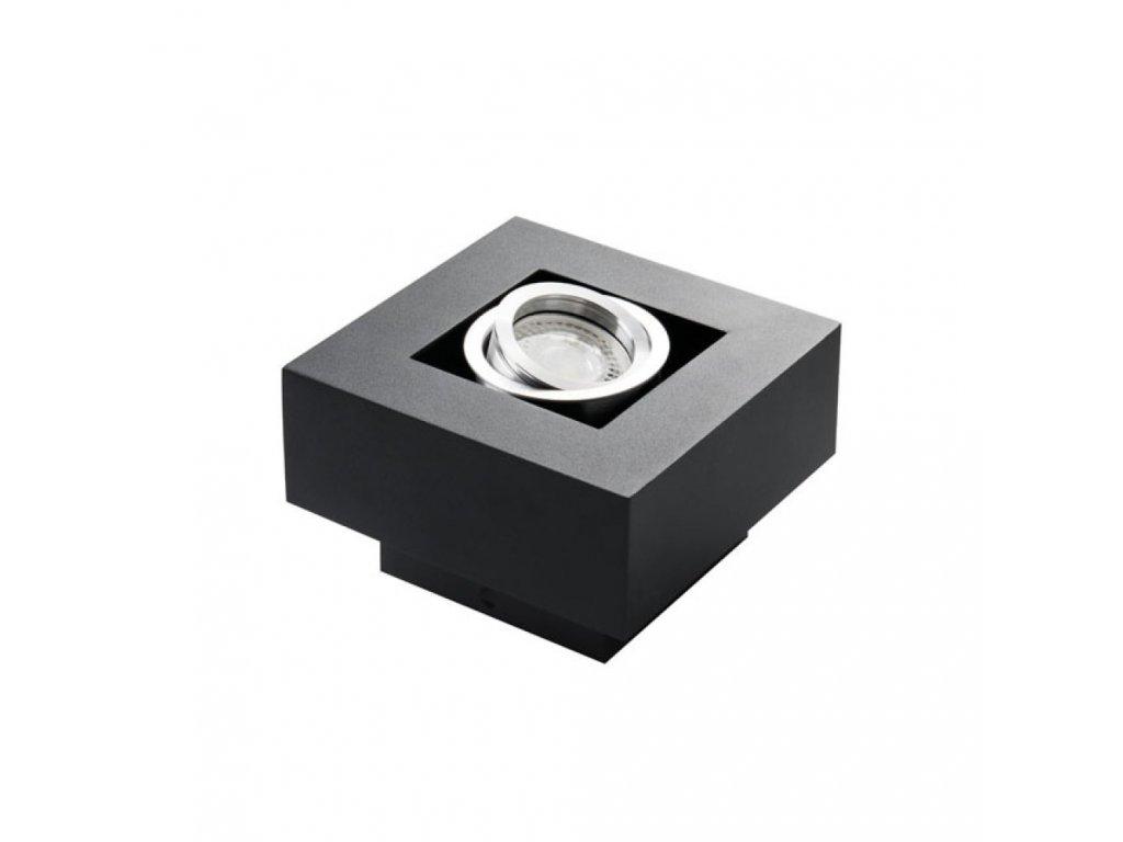 Přisazené svítidlo STOBI 50-B černé - STOBI DLP 50-B černé přisazené bodové svítidlo