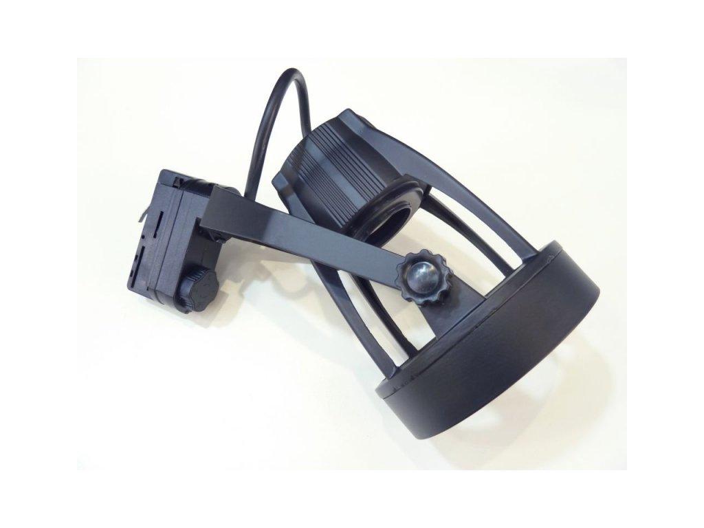 Track light 3F E27 - lištové svítidlo - Barva černá