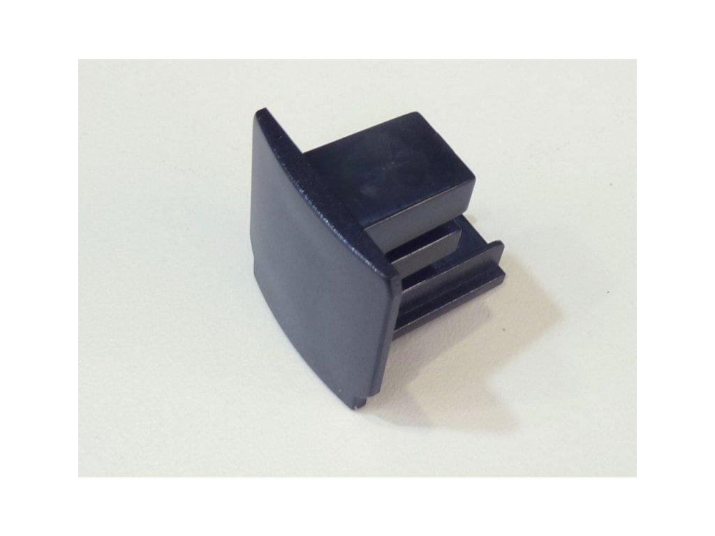 Koncovka krátká 3F pro třífázovou lištu - Barva černá