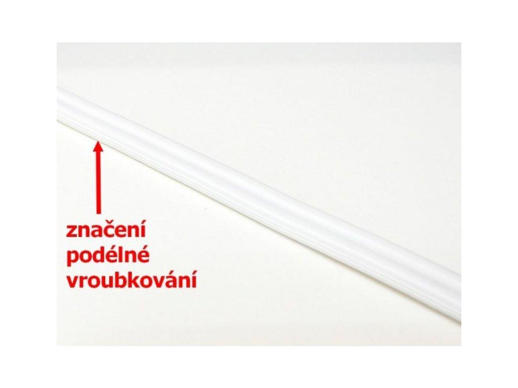Kabel bílý - Kabel bílý- 2x0,35