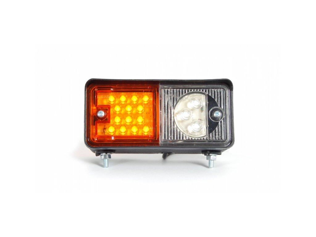 Světlo přední LED W07/491 12/24V Zetor pravé