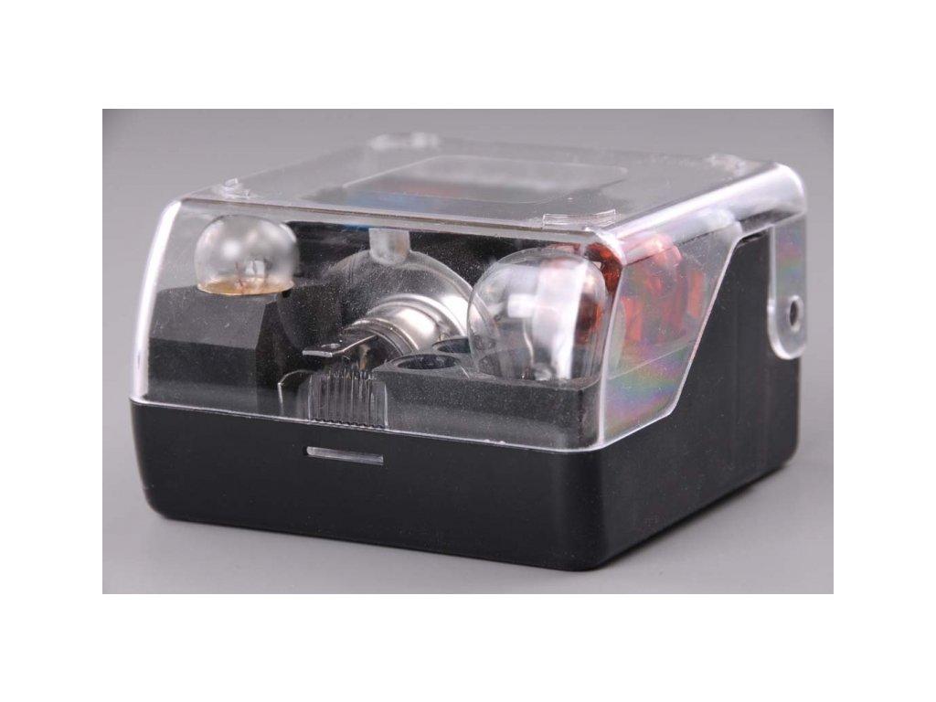 Servisní krabička autožárovek pro 12V asymetrická H4 žárovka P45t