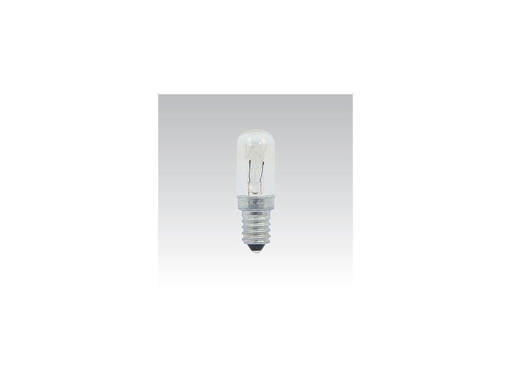Trubková žárovka 240V 15W E14 čirá