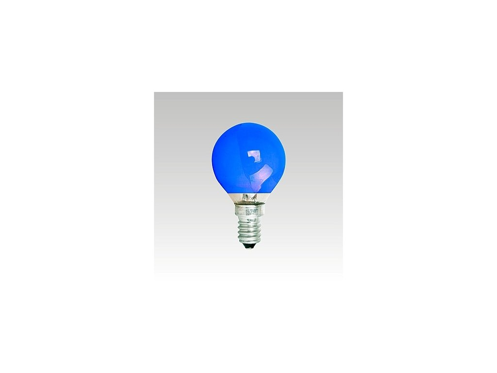 ATF 240V 25W E14 modrá NARVA